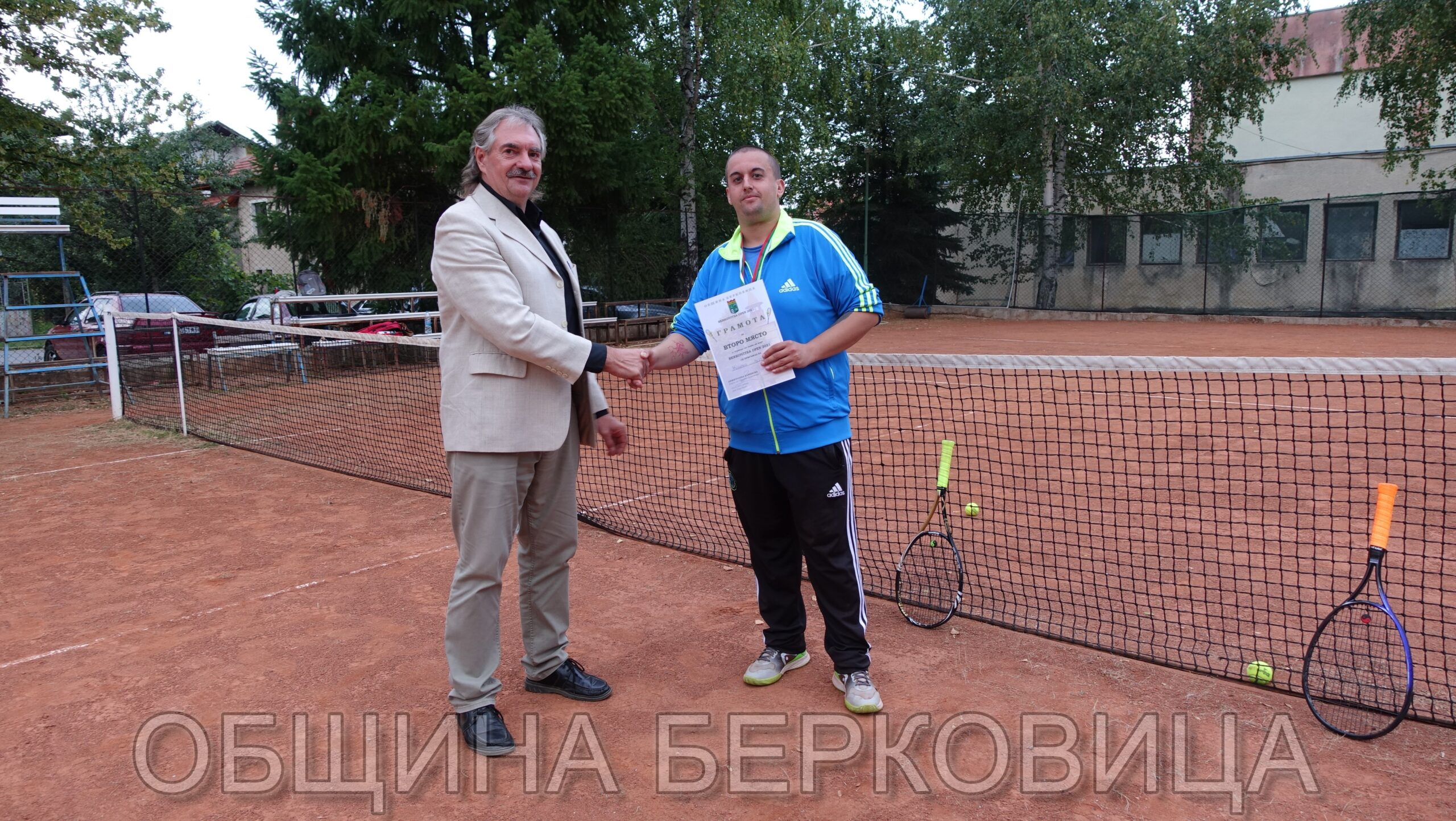 Tенис на корт Berkovitsa open 2021 г.